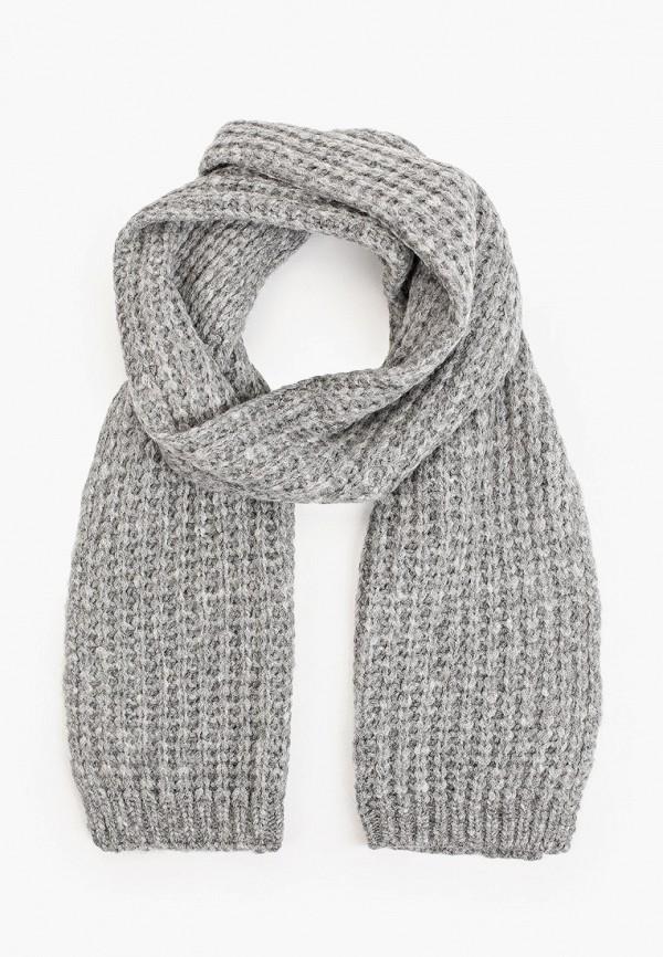женский шарф boss, серый
