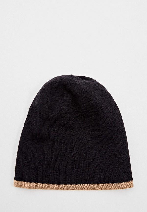 женская шапка boss, черная