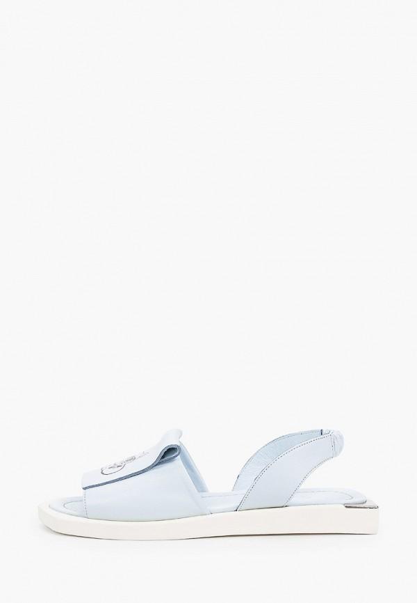 женские сандалии stivalli, голубые