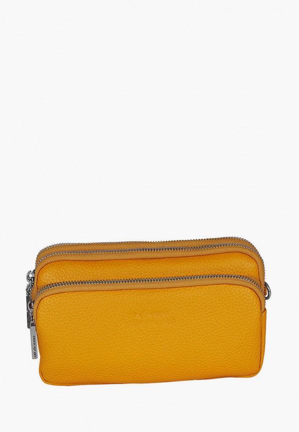 женская сумка de esse, желтая