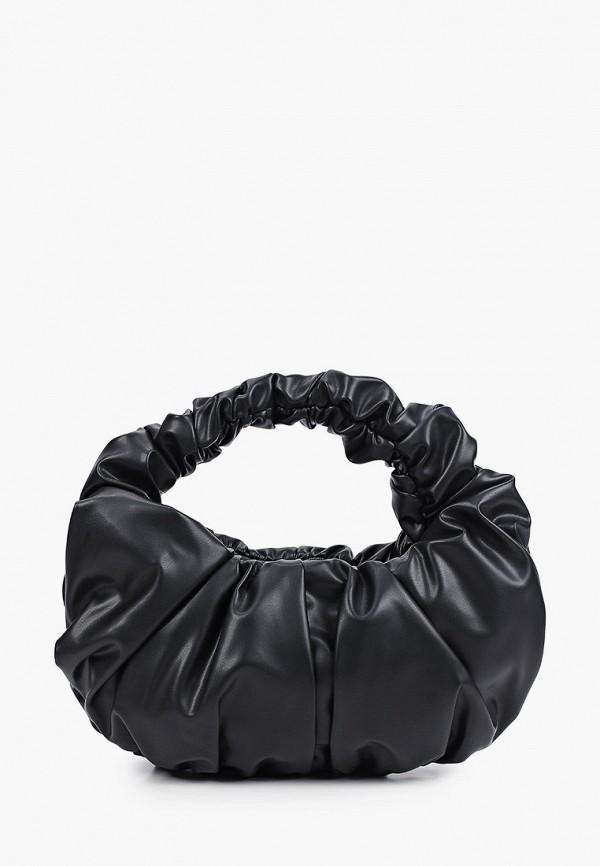 женская сумка с ручками zarina, черная