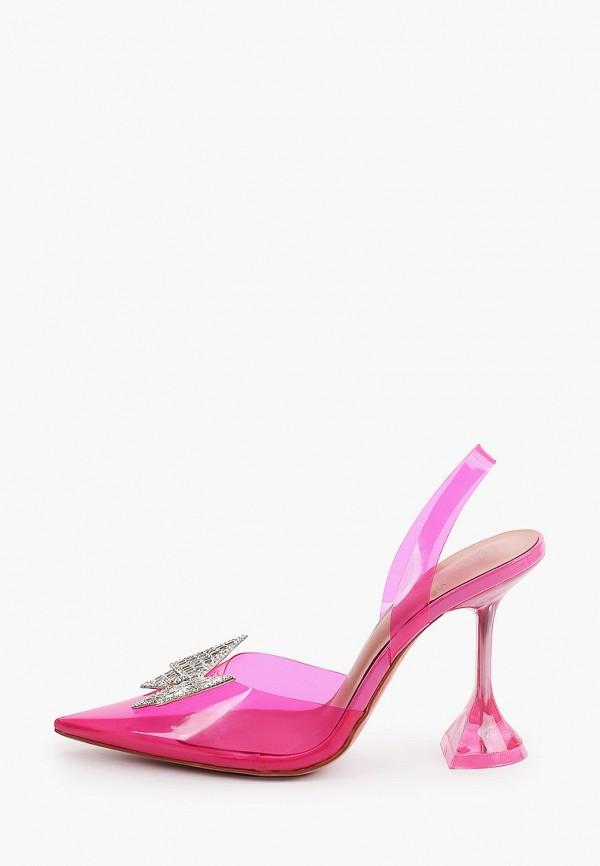 женские туфли араз, розовые