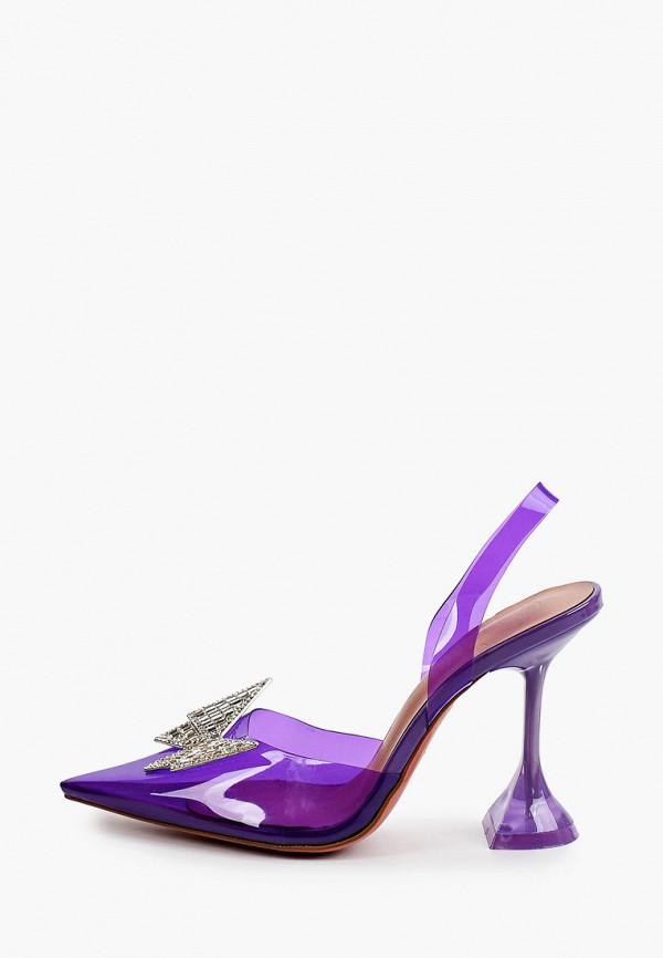 женские туфли араз, фиолетовые