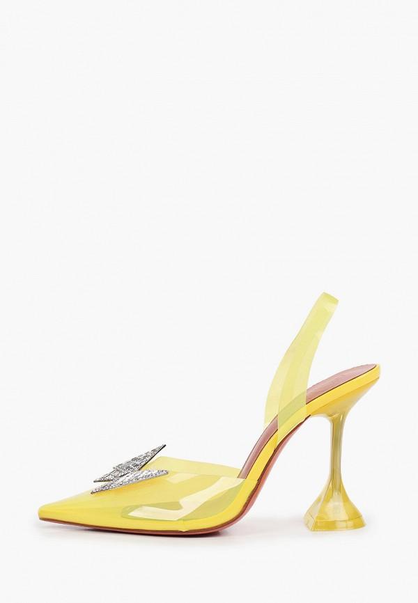 женские туфли араз, желтые