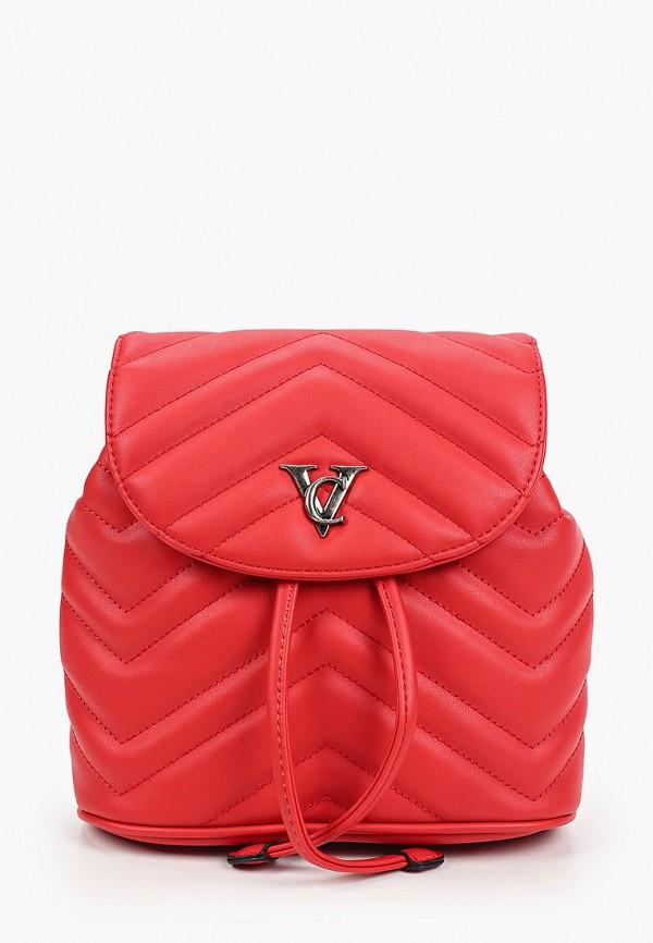 женский рюкзак vitacci, красный