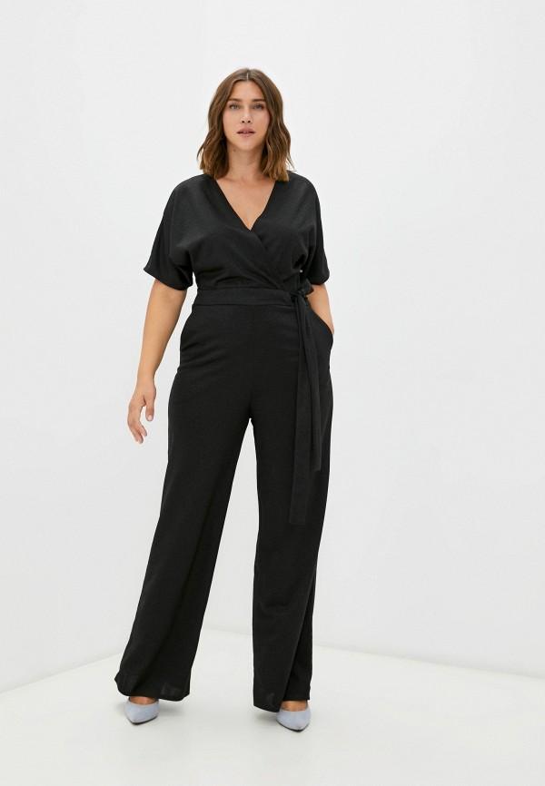женский комбинезон с брюками sienna, черный