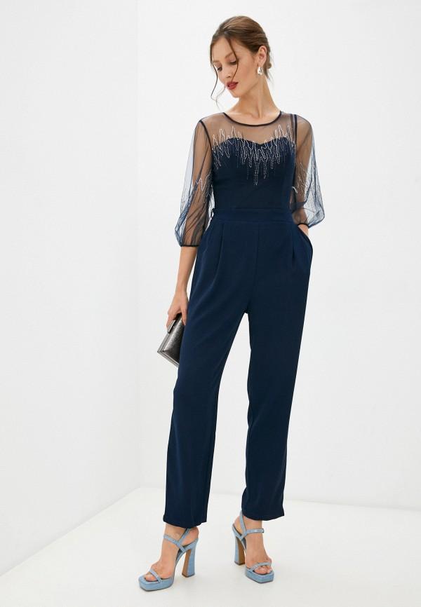 женский комбинезон с брюками sienna, синий