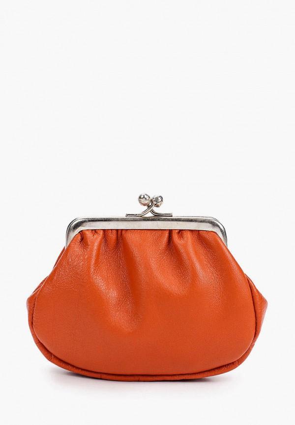 женский кошелёк d.angeny, оранжевый