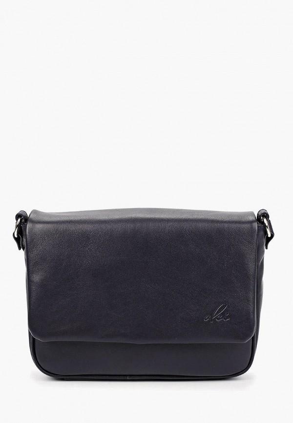 женская сумка через плечо olci, синяя