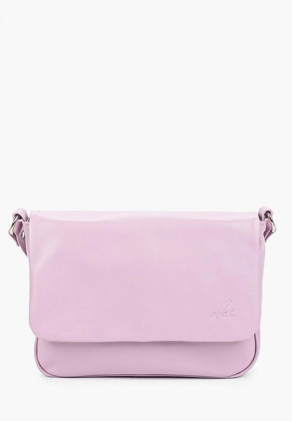 женская сумка через плечо olci, розовая