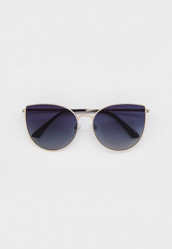 женские солнцезащитные очки кошачьи глаза mon mua, серебряные