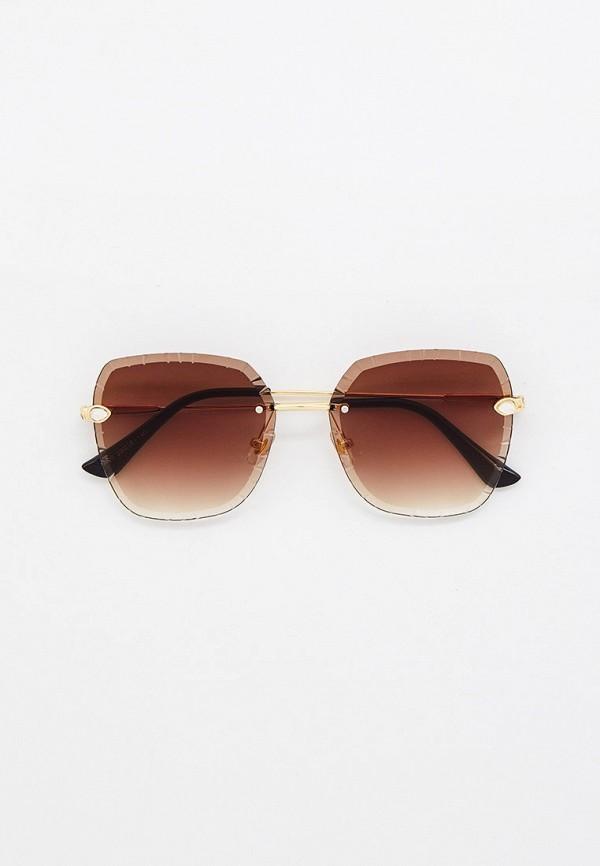 женские солнцезащитные очки mon mua, золотые