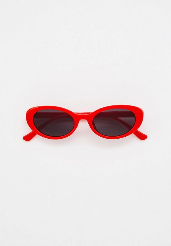 женские солнцезащитные очки mon mua, красные