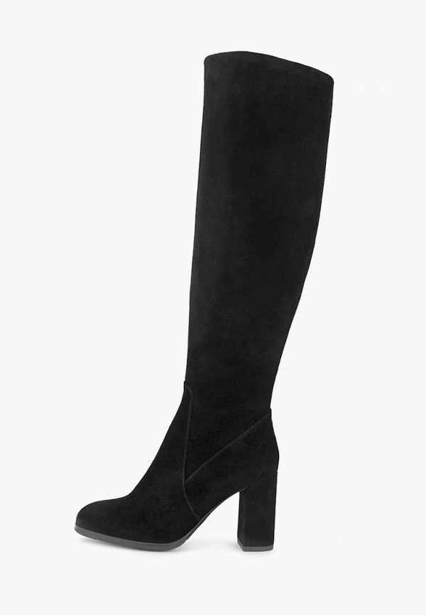 женские сапоги pierre cardin, черные