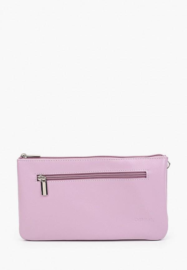 женская сумка через плечо duffy, фиолетовая