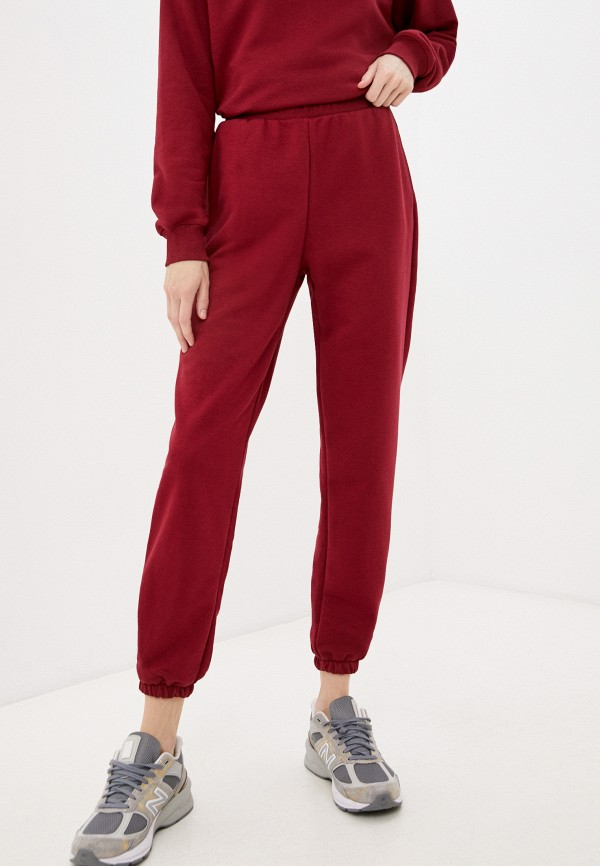 женские спортивные брюки baon, бордовые