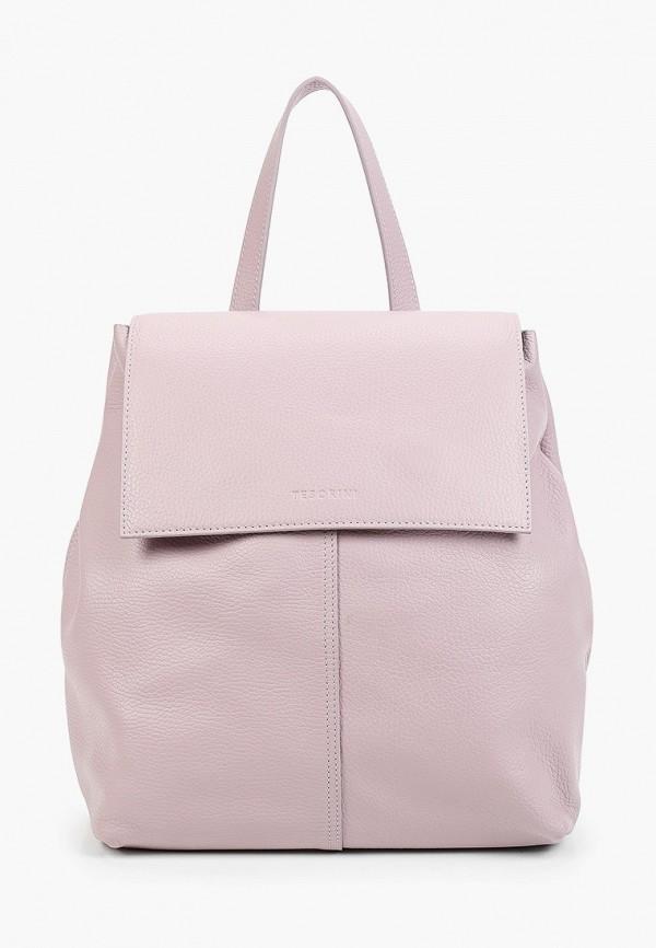 женский рюкзак tesorini, розовый