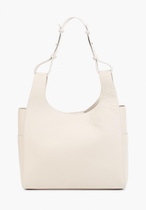 женская сумка-шоперы tesorini, бежевая