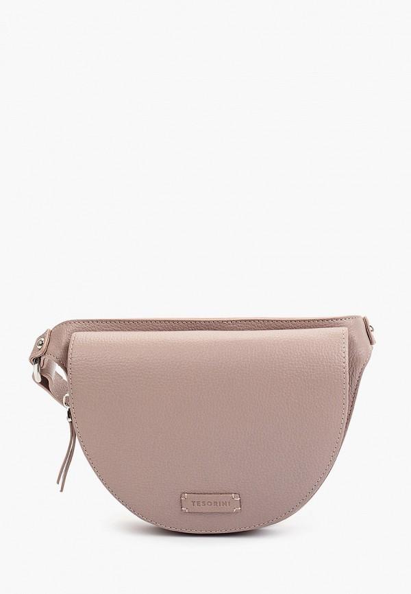 женская поясные сумка tesorini, розовая