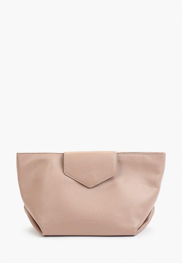 женская сумка через плечо tesorini, розовая