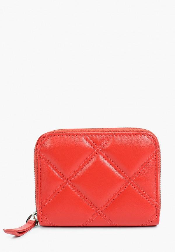 женский кошелёк tesorini, красный
