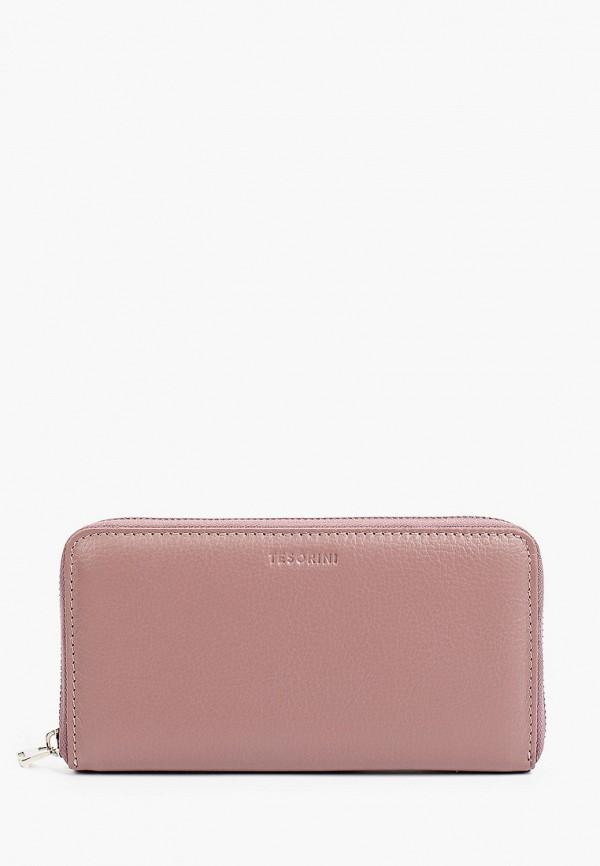 женский кошелёк tesorini, розовый
