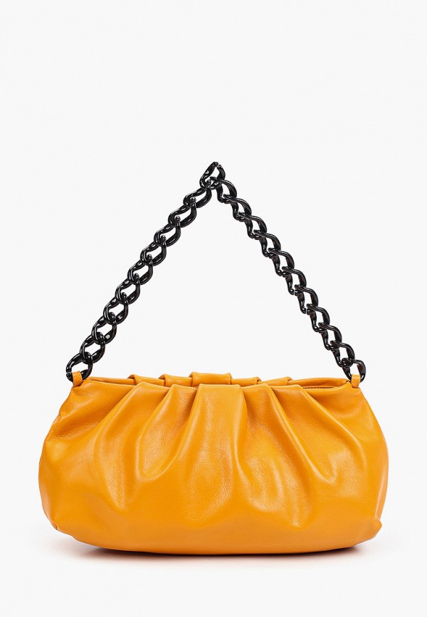 женская сумка через плечо tesorini, оранжевая