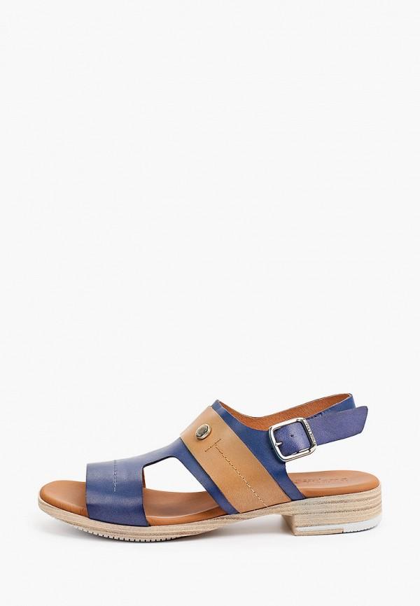 женские сандалии paula urban, синие