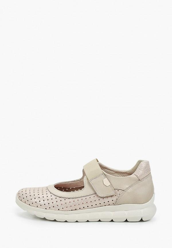 женские туфли on foot, серые