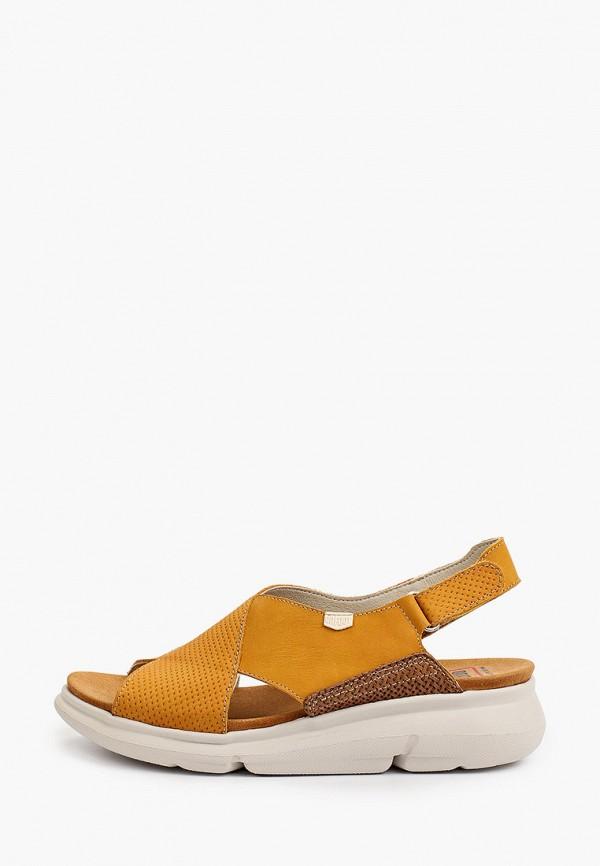 женские босоножки on foot, оранжевые