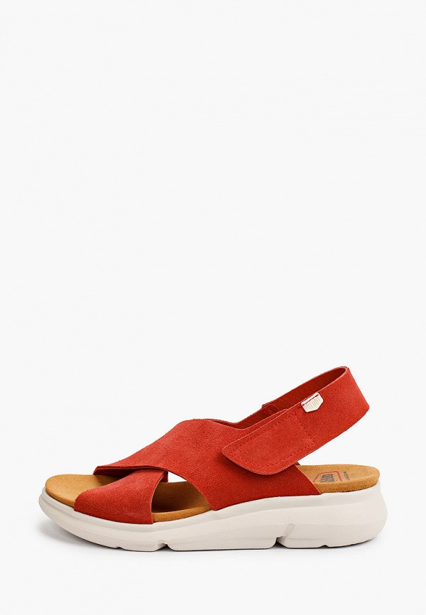 женские босоножки on foot, красные