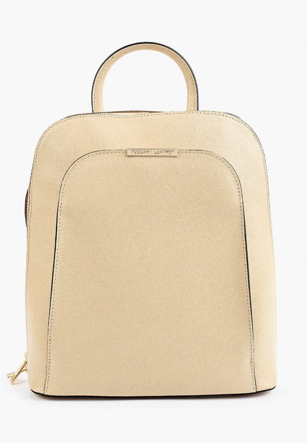 женский рюкзак tuscany leather, бежевый