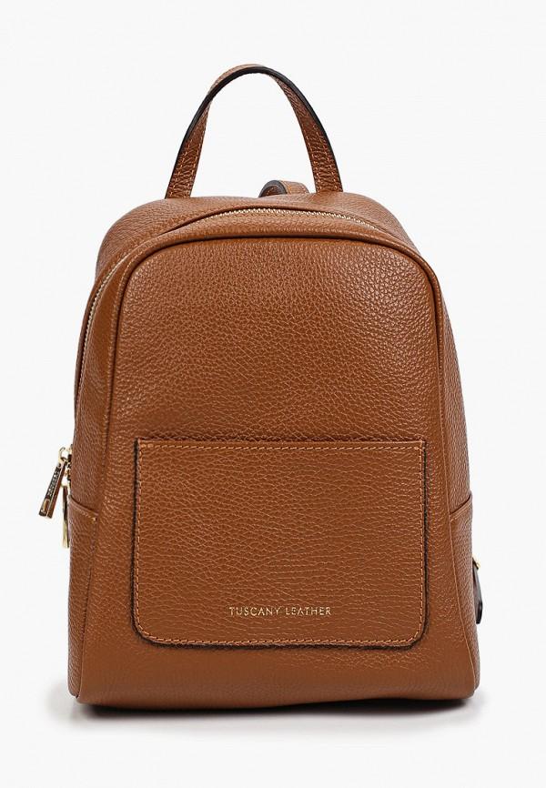 женский рюкзак tuscany leather, коричневый