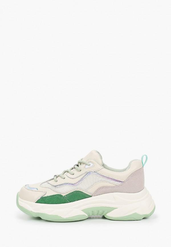 женские низкие кроссовки abricot, бирюзовые