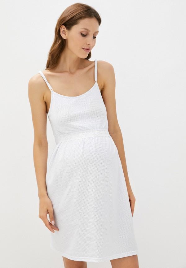 женские сорочка ночная lika dress, белые