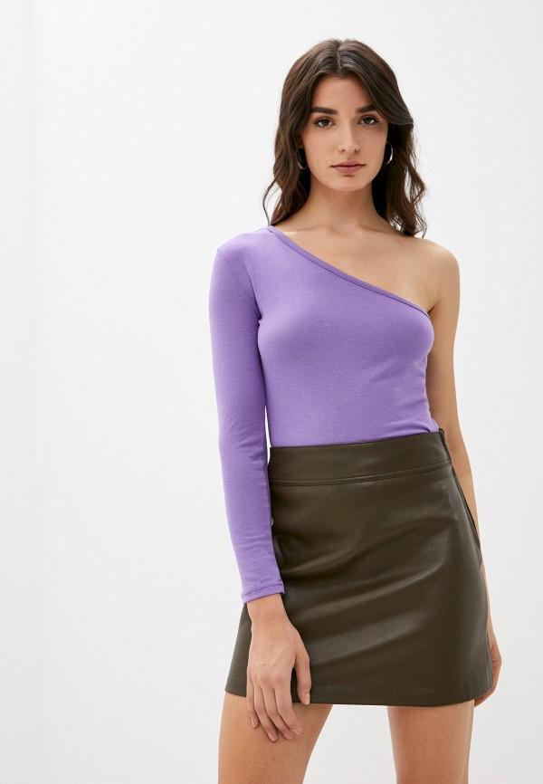 женский лонгслив vittoria vicci, фиолетовый