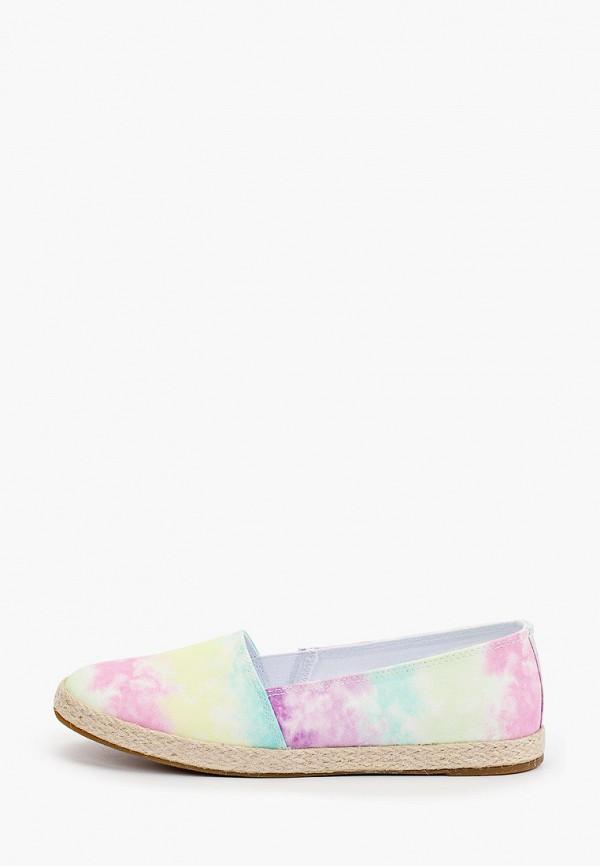 женские эспадрильи graceland by deichmann, разноцветные