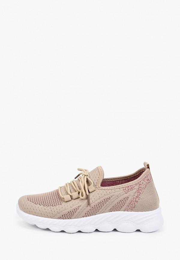 женские низкие кроссовки nobbaro, коричневые
