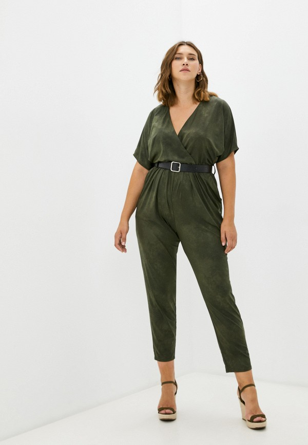 женский комбинезон с брюками sienna, зеленый