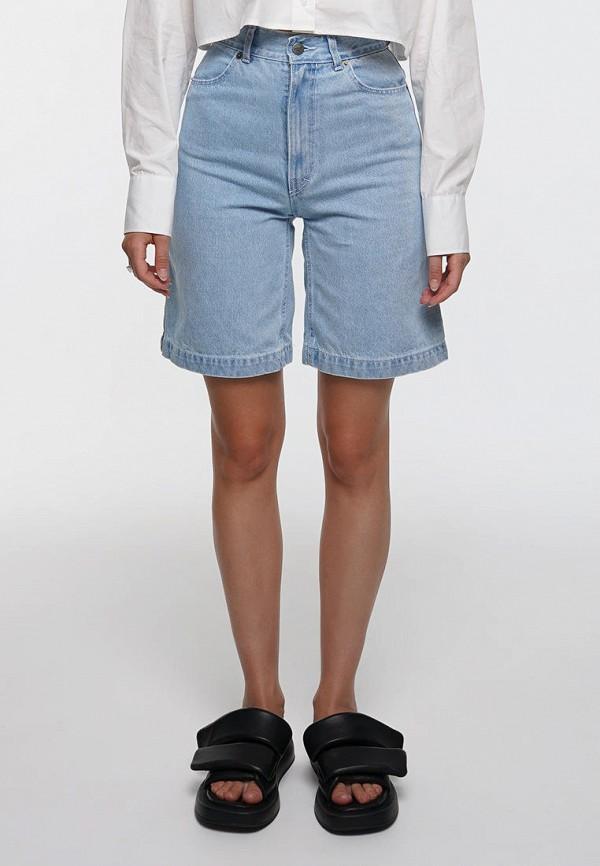 женские джинсовые шорты whynotdenim, голубые