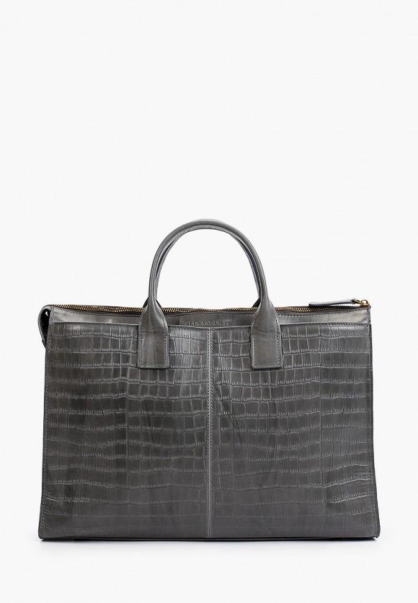 женская сумка alexander tsiselsky, серая