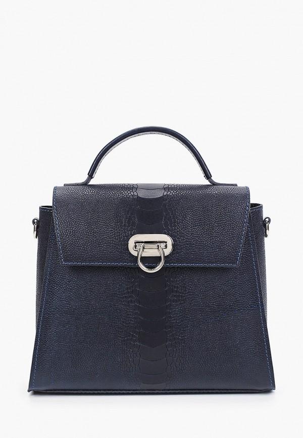 женская сумка через плечо alexander tsiselsky, синяя