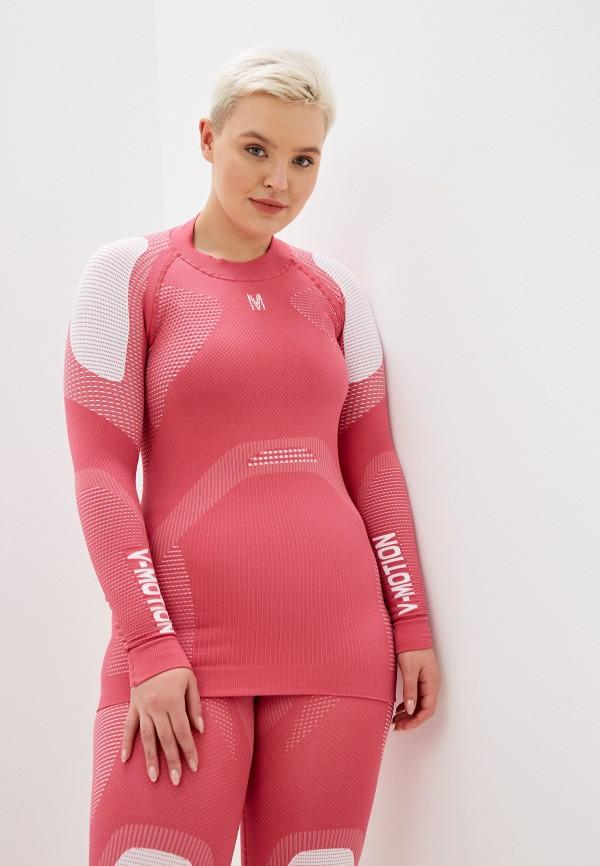 женское термобелье v-motion, розовое
