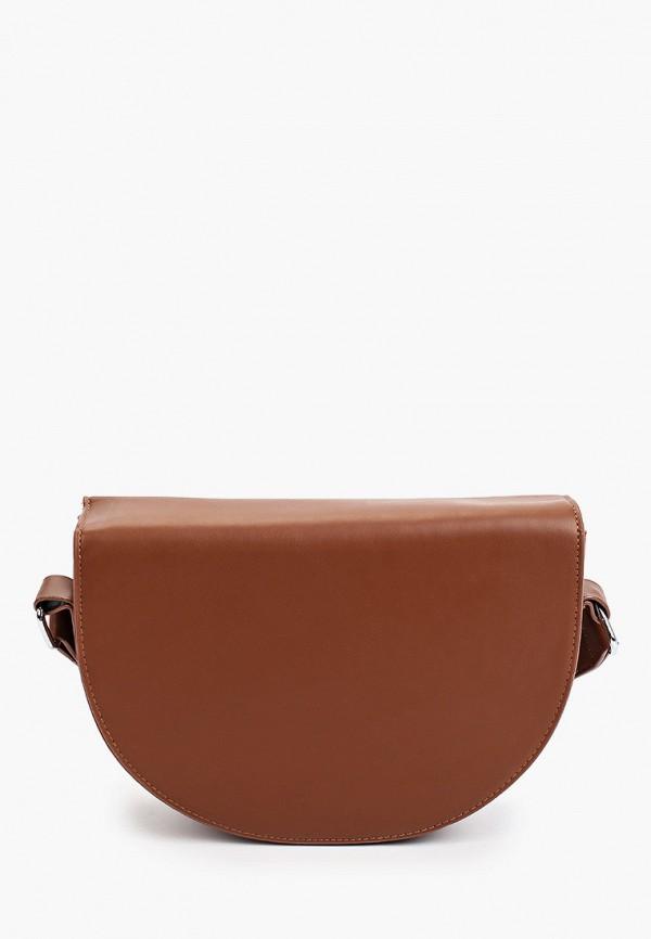 женская сумка через плечо bradex, коричневая