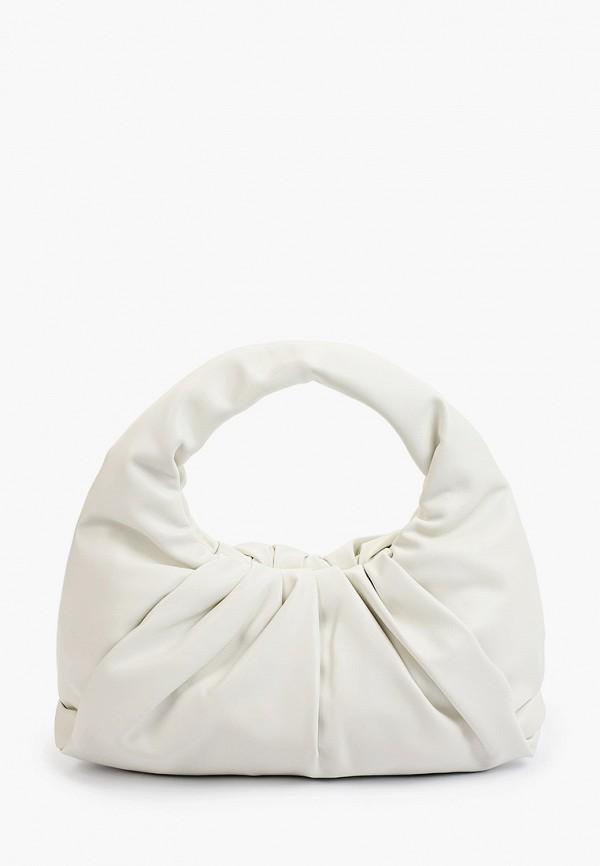 женская сумка с ручками bradex, белая