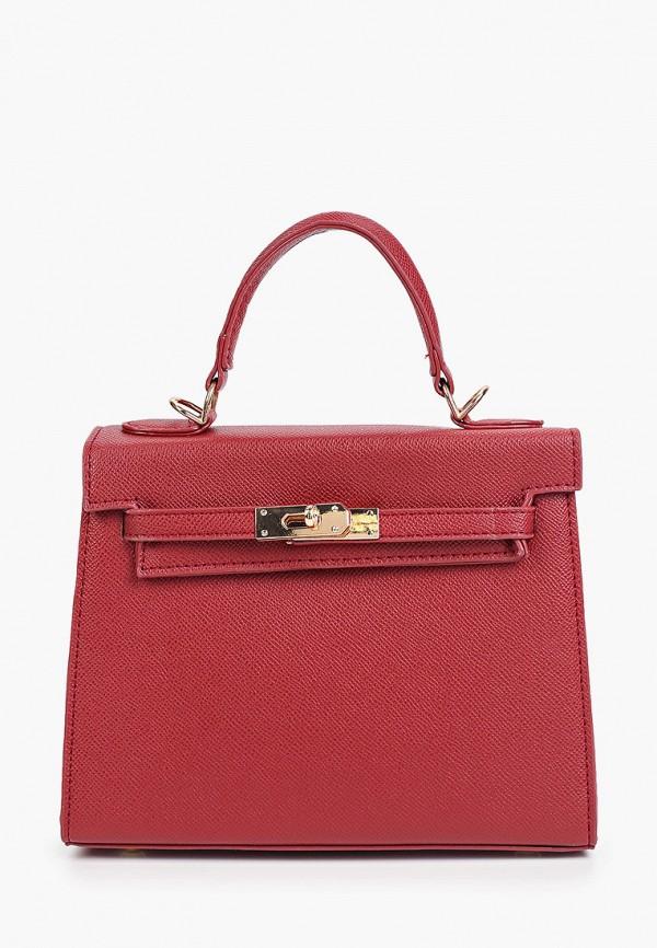 женская сумка с ручками bradex, красная