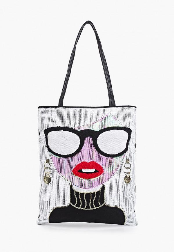 женская сумка с ручками bradex, разноцветная
