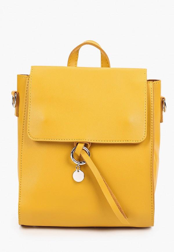 женский рюкзак bradex, желтый