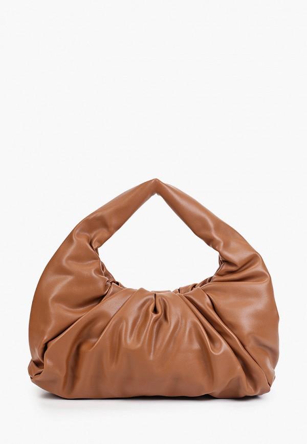 женская сумка с ручками bradex, коричневая
