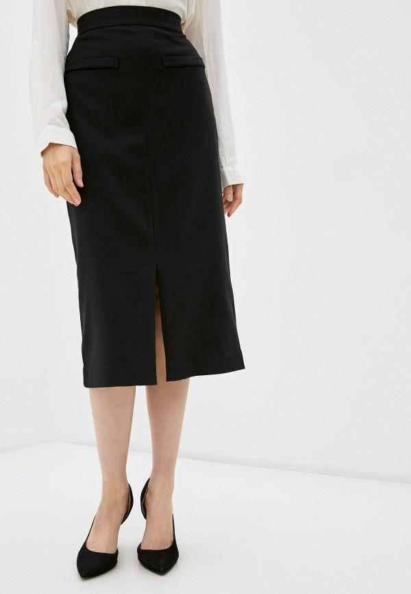 женская прямые юбка sei tu, черная